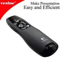 Wireless USB Remote Laser Presentation Pointer Pen PowerPoint Presenter Remote Control RC Laser Pointer Pen With Presentation