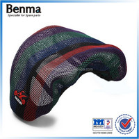Durable 3D seat cover for motorcycle with waterproof cushion hot selling