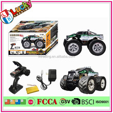ABC-233922 1 8 Scale 2.4G 4WD Brush Motor Amphibious Remote Control Model Car