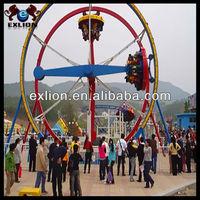 2013 new products theme park Amazing amusement track car electric ferris wheel ride