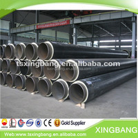 China district cooling pipeline with polyurethane pre insulated for underground buried
