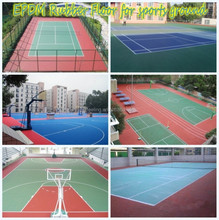 EPDM Rubber Granules, Sports Playground, Basketball Court-FN-L-15061701
