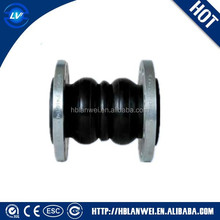 EPDM double sphere rubber expansion bellow joint