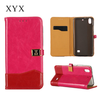 fashion color-mix perfect fitted cover case for huawei phone, wallet case for huawei ascend g620s