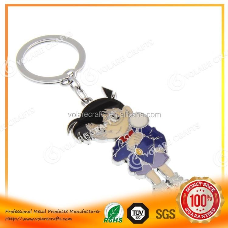 도매 선물 새로운 패션 디자인 핫 판매 탐정 코난 애니메이션 키 체인