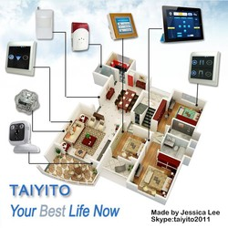 Protocol Open ZigBEE Home Automation Gateway, Remote control smart house, Smart House system for Villa