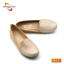 Flat round toe latest footwear for girls