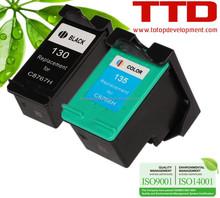 TTD Ink Cartridge C8766H C8767H for HP 130 135 cartridge