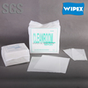 Best quality 55%cellulose 45%PET cleanroom wiper cloth for cleaning