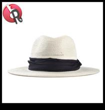 hot sell straw fedora hat panama hat