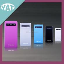 Ultra slim portable solar power bank /rechargeable panel power bank