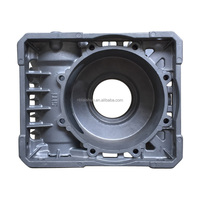 The clutch case casting and machining