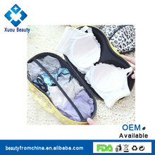 2014 ladies fashion bra storage case travel portable underwear bra bag