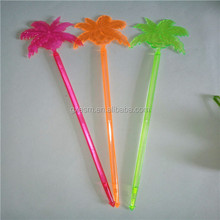 Coconut Tree Disposable Plastic Stirrers For Drinks