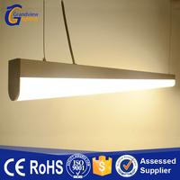 white linear 1200mm length pendant led hanging office light