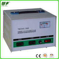 automatic servo motor type voltage stabilization for computer 1phase 1.5kva