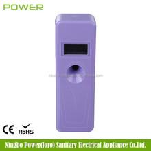 LCD lockable automatic aerosol dispenser air freshener,electric room air freshener