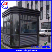 movable portable outdoor booths/ stainless steel sentry guard/security sentry box