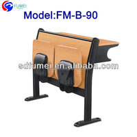 FM-B-90 Metal frame folding school desk and chair for students