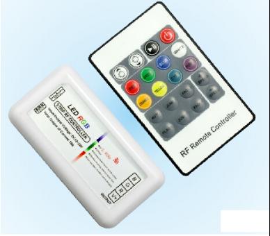 12A DC12V/144W 24V/288W RF 8 Key LED RGB Controller