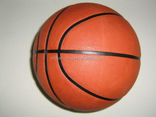 Brown basketball with Official weight and size