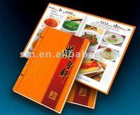 Professional Restaurant Hardcover Menu Printing