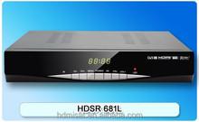 Digital Full hd Free to Air satellite TV receiver with Ali chip/Model HDSR 681L