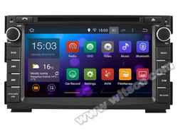 WITSON Android 4.4 FOR KIA VENGA CAR RADIO DVD GPS 2010-2012 DVR 3D MAP 1.6GHZ Frequency 1080P HD VIDEO