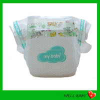 Super Low Price Disposable Sleepy Baby Diapers in Bales