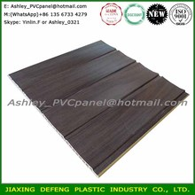 Factory Wholesale Wood Paneling PVC Laminate Ceiling Wall Decoration Material