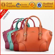 Guangzhou pu bag woman bag brand leather tote bag