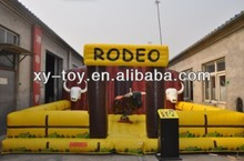 Gigante inflable mechanical bull, toro inflable paseo, rodeo toro inflable