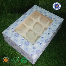 Dongguan U color design 12slots cupcake box