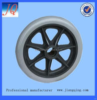 Best quality classical rubber solid color wheelchair wheels
