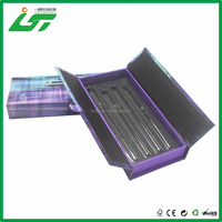 black printing color packing box for cosmetic