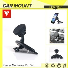 Hot Selling magnet Car Phone Mount Holder With Clamp For mobile phone