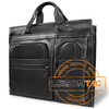 Leather Ballistic Briefcase for military meet ISO standard