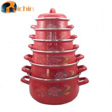 porcelain enamel cookware set steel enamel casserole