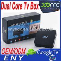 Android 4.2 Amlogic 8726 M6 Smart TV Box Android 4.1 MX Dual Core Box 1GB 8GB