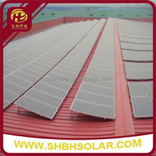 Solar Panel Mounting Aluminum Brackets for Tin Roof Mounting System