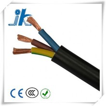 CE approved 0.5mm 3 Core H03VV-F wire cable