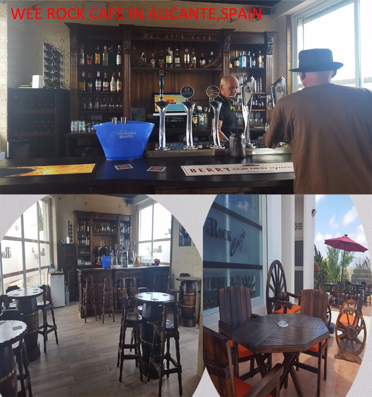 Wee Rock Cafe--bar furniture