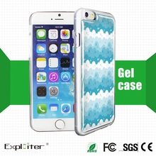 China top-quality new style plain hard plastic phone cover