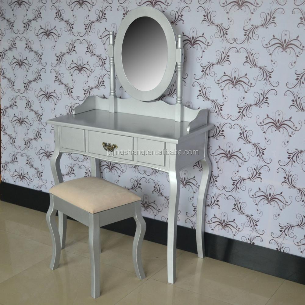 Klassieke houten slaapkamer set dressoir kaptafel zilver dressoirs ...