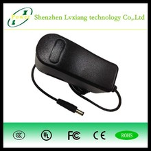 Desktop Power Adaptor 13.5W AC DC Power charger adapter 9V 1.5A with UL GS CE FCC SAA KC PSE CCC