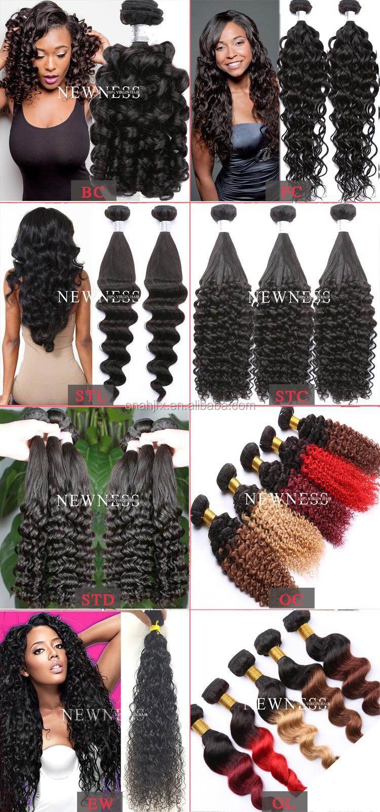 Brazilian Hairhuman Hair Bulkbrazilian Deep Curly Ombre Hair Weave