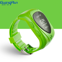 Guangrun 2015 New GPS Personal Tracker Kids Safety Watch Phone GPRS Tracker