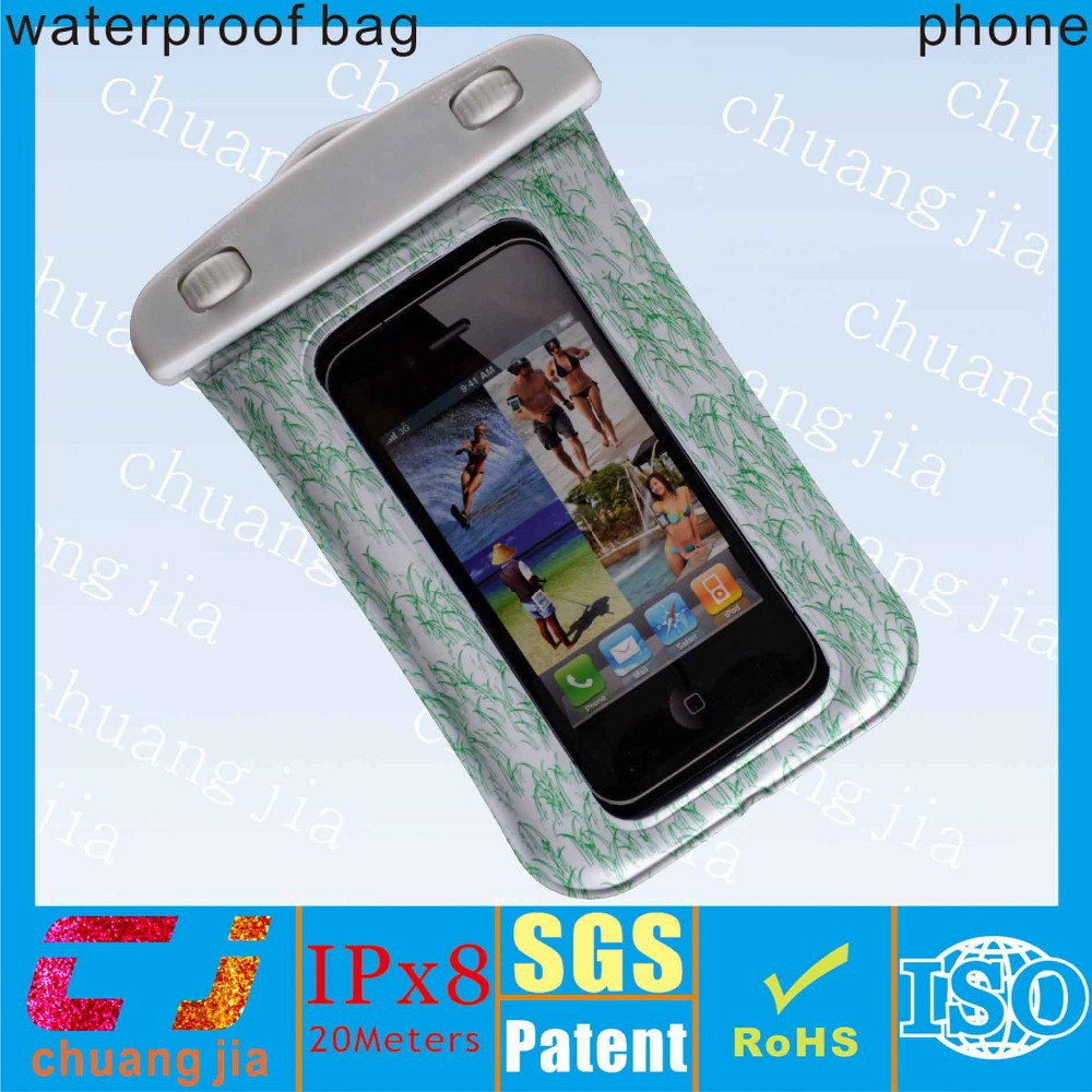 New design tpu waterproof bags for iphone with armband