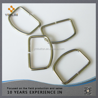 Wholesale metal open d ring for handbag