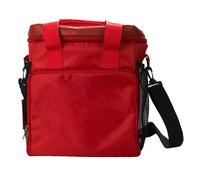 high-end promotion lunch bag pvc wine cooler bag mesh cooler bag